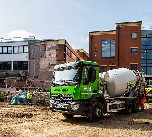 Largest Independent Concrete Supplier in South Yorkshire