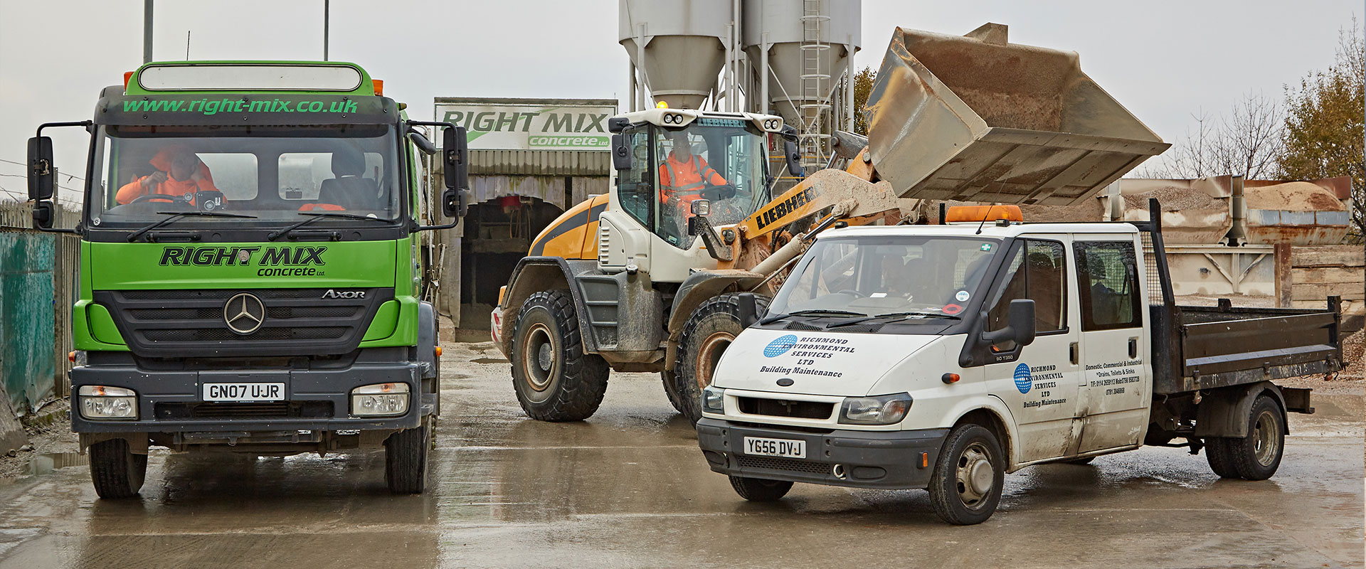 Concrete Collection Services from Right Mix