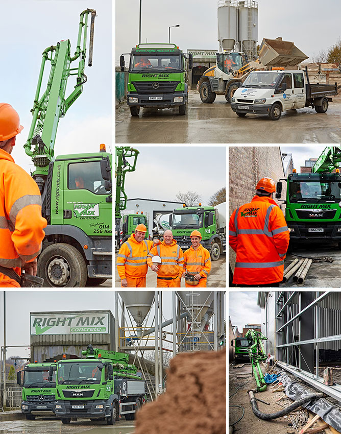 Right Mix - Concrete Supplier to Derbyshire & Yorkshire