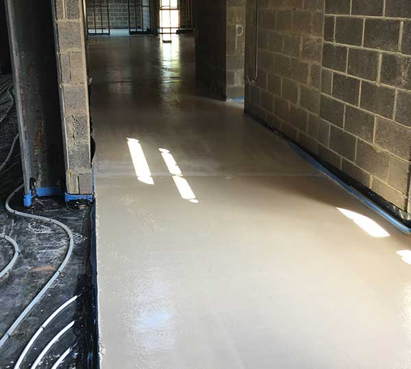 A sustainable screed solution from Right Mix